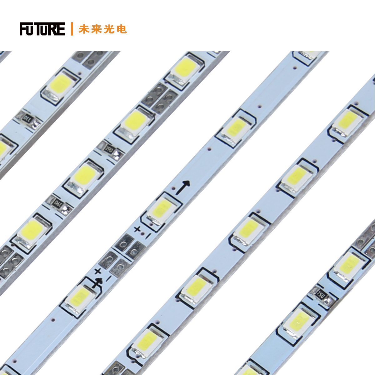 2835 Edge-lit Rigid Led Tape Bar 60leds/m